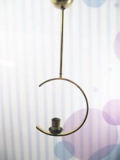 Art Deco Bauhaus Lampe Messing  - ceiling lamp brass