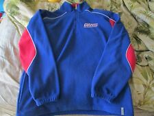 Mens Reebok NY GIANTS fleece  jacket Size M AWESOME LOOKING
