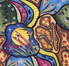 AUSTRALIAN ABORIGINAL QUILTING FABRIC - BAMBILLAH sold by FQ and METRE