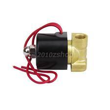 AC 220V 1/4 Pollice Elettrovalvola Valvola Solenoide Per Gas Acqua