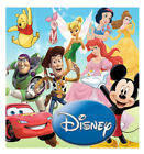 Disney Pixar Children's Reuseable Wall Stickers Ideal For Kids Bedroom Removable