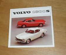 Volvo 1800S Brochure 1964 - B18 B Engine