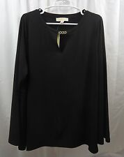 Women's Michael Kors Plus Size  Long Sleeve Shirt  1X
