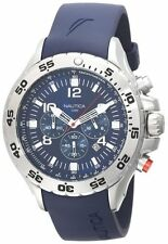 Nautica Men's Blue Resin Chronograph Watch N14555G