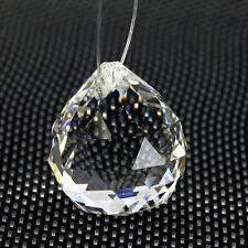 """10PCS Crystal Chandelier Ball Prism Suncatcher Glass Pendant Decor 0.8"""" Ornament"""