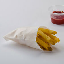 French Fry/ Small Fry Bag/ Cookie bag - Grease Resistant Paper- (50 count)