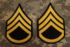 US Army Dress Blue Uniform Staff Sergeant E-6 Rank Stripes Patch Perfect Used