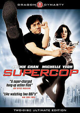 Supercop (DVD, 2009, 2-Disc Set) Two-disc Ultimate Edition w/Jackie Chan