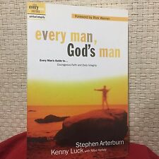 Every Man, God's Man Every Man's Guide to...Courageous Faith Arterburn Free Ship