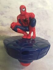 Spider Man Top Toy Happy Meal McDonalds Spinning