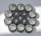 10-100 pcs 10/30/60/90/120 degree soft led lens + Black Holder For 1w 3w 5w LED