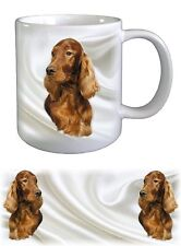 Irish Setter Dog Ceramic Mug by paws2print