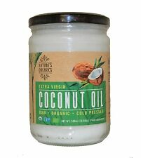 Nature's Organics Raw Organic Cold Pressed Virgin Coconut Oil 500ML (16.90oz) gl