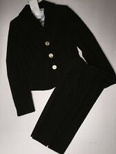 Emilio Pucci jacket long sleeves Blazer Suit Capri Pants $1460 Size 4