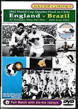 1962 World Cup Quarter Final - England Vs Brazil  DVD