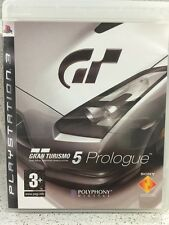 GRAND TURISMO 5 PROLOGUE. JEUX PS3 AVEC NOTICE PLAYSTATION
