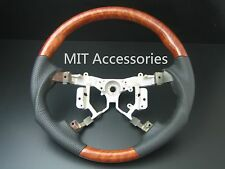 MIT Toyota CAMRY AURION 2006-2011 wood genuine leather steering wheel