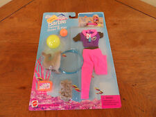 BARBIE OCEAN FRIENDS TRAINING DRESS 'N PLAY FASHION CLOTHES Mattel 1996