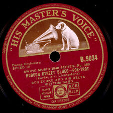 Bob zurke Delta Rhythm Band Hobson Street Blues/I 've found a new baby x1954