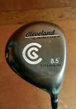 Cleveland Launcher Driver 8.5 Degrees Titanium Golf Pride Grip w/ Head Cover