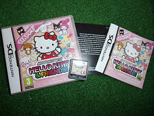 NINTENDO DS NDS DSL DSi GAME HAPPY PARTY With Hello Kitty & Friends COMPLETE GWO