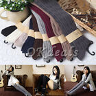 Fashion Cotton Women Knit Over Knee Thigh Stockings High Socks Pantyhose Tights