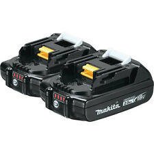 Makita 18V 2.0 Ah Compact Lithium-Ion Battery (2-Pack) BL1820B-2 New