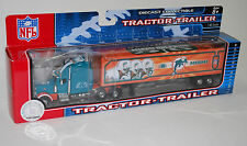 NFL Football Semi Truck Tractor Trailer Hauler Collectible Miami Dolphins