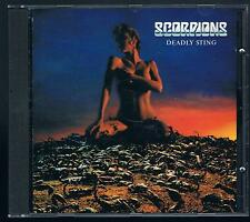 SCORPIONS DEADLY STING  CD  PRINTED IN ITALY