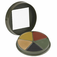 Camouflage Tactical Face Paint 5 Color Compact w/Mirror Hunting Military Camcon