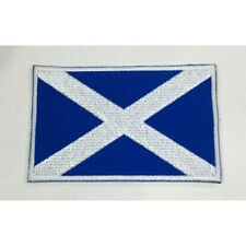 Scotland Scottish Nation Country Flag Embroidered Sew/Iron On Patch Patches
