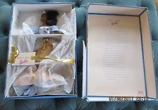 HARPIST ANGEL BARBIE ANGELS OF MUSIC COLLECTION ( AFRICAN AMERICAN)