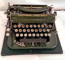 Vintage Imperial Model D typewriter