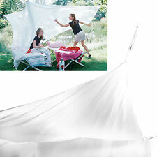 Large Size White Mosquito Fly Net Netting Indoor Outdoor Camp Portable Netting