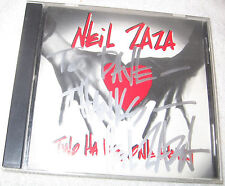 Signed Two Hands, One Heart by Neil Zaza CD, 1992, Free Shipping U.S.A.