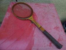raquette de tennis Donnay King's Cup en bois vintage wooden racquet