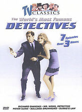 TV Classics: The World's Most Famous Detectives (DVD) 7 Episodes Over 3 Hours