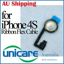Home Button Inside Ribbon Flex Cable Replacement  Repair Parts for iPhone 4S 4GS