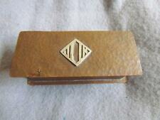 Arts and Crafts Era Hammered Copper Coin Holder