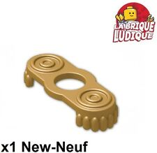Lego - 1x Minifig Epaulette pirate capitaine or doré/pearl gold 2526 NEUF