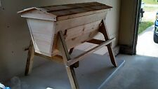 Kenya Bee Hive Observation, Free Shipping Top Bar Hive,Bee Keeping Hive Large