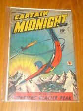 CAPTAIN MIDNIGHT #61 VG (4.0) 1948 MARCH FAWCETT*