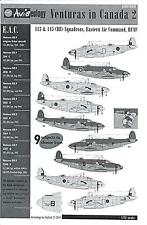Aviaeology Decals 1/72 LOCKHEED PV-1 VENTURA IN CANADA Part 2