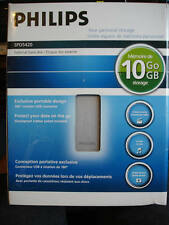 Phillips External Hard Disk 10 GB Of Storage New In Box!