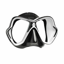Mares X-Vision Ultra Liquidskin Scuba Diving Snorkeling Mask - White/Black USED