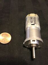 DC 12V 500RPM 2-Pin Electric Geared Box Reduction Motor Torque metal      B6