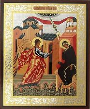 Annunciation of our Lord to the Blessed Virgin Mary - Authentic Russian Icon