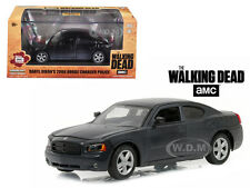 "DARYL DIXON'S 2006 DODGE CHARGER POLICE ""THE WALKING DEAD"" 1/43 GREENLIGHT 86505"