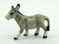 Craft Miniature Collectible Porcelain Ceramic Donkey Mules Figurine Animal