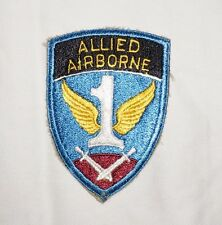 1st Allied Airborne Army Patch WWII US Army P0787